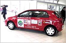 TOYOTA MOTOR CZECH dne 12.4.2002 odstartovala akci nazvanou