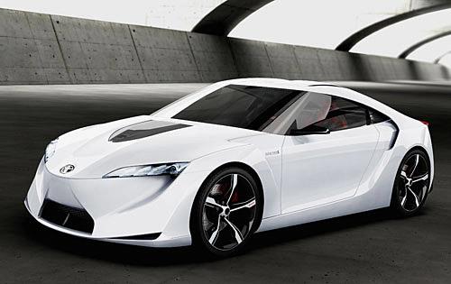 Koncept Toyota FT-HS – čtyřmístné sportovní kupé se stahovací střechou shybridním pohonem
