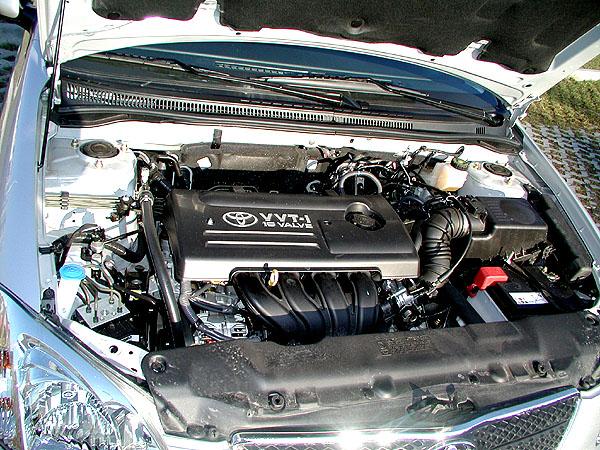 Nová Toyota Corolla smotorem 1,6 vredakčním testu