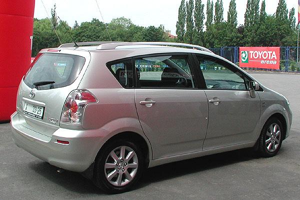 Nová až sedmimístná Toyota Corolla Verso zítra 1. června vprodeji na našem trhu