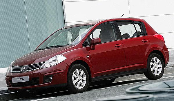 Nissan – modelu Tiida prodáno 1 000 715 kusů