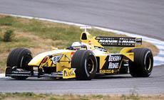 Tomáš Enge jako vůbec první Čech testoval F1