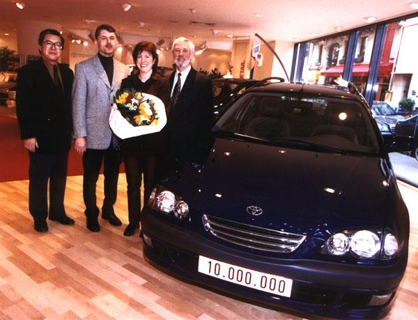 Toyota: 10 000 000 prodaných vozů vEvropě