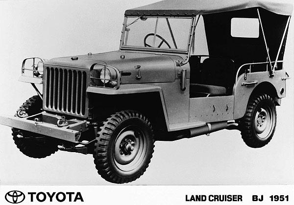 Toyota Land Cruiser slaví 50