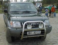 Toyoty 4x4 vterénu