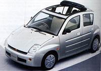 Toyota WiLL Vi snetradičním řešením