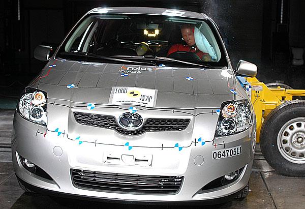 Toyota Auris získala pět hvězdiček
