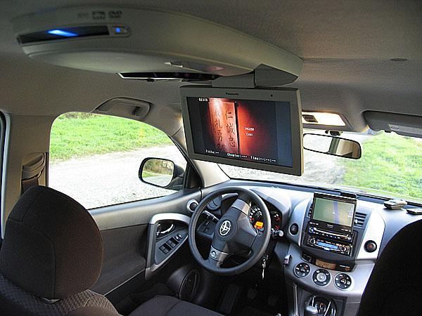 Panasonic předvádí vůz plný hifi