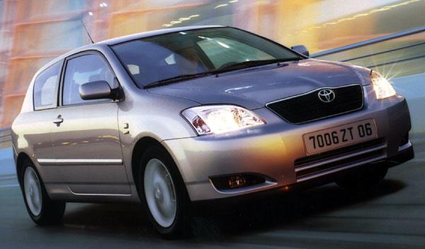 Nová Toyota Corolla získala prestižní titul Car of the Year 2002. britského časopisu What Car?