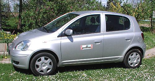 Nová Toyota Yaris smotorem objemu 1,0 litru vredakčním testu