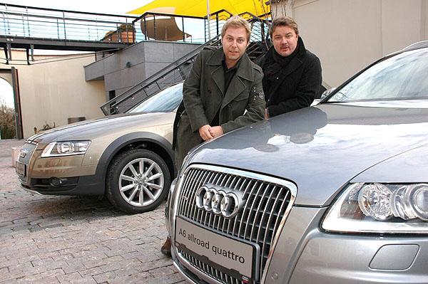 Těžkej Pokondr jezdí vozy Audi A6 allroad quattro