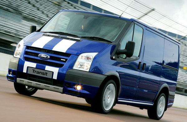 Ford na právě probíhajícím veletrhu užitkových vozidel v britském Birminghamu.