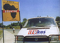 STransporterem napříč Afrikou