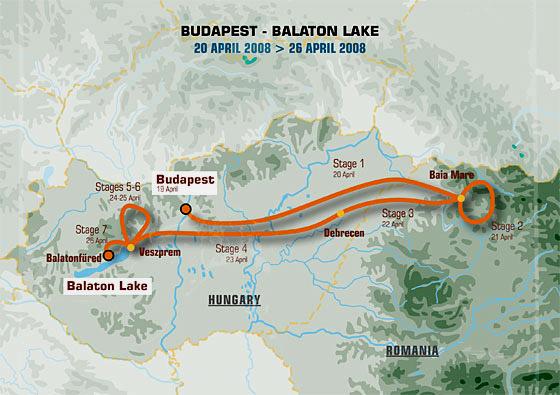 Loprais Tatra Team si Vás dovoluje pozvat do dějiště středoevropské rallye