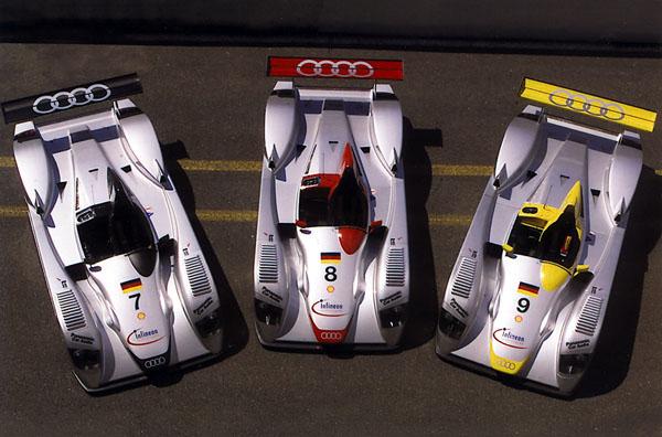 Audi vítězí vLe Mans