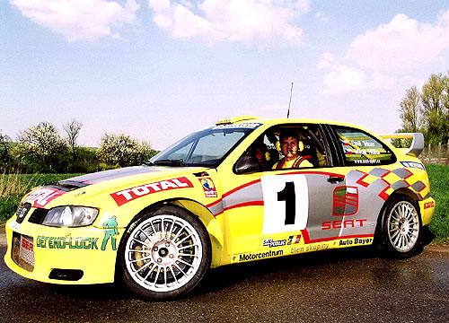 Emil Triner vybojoval svozem SEAT Cordoba WRC titul soutěžního vícemistra ČR