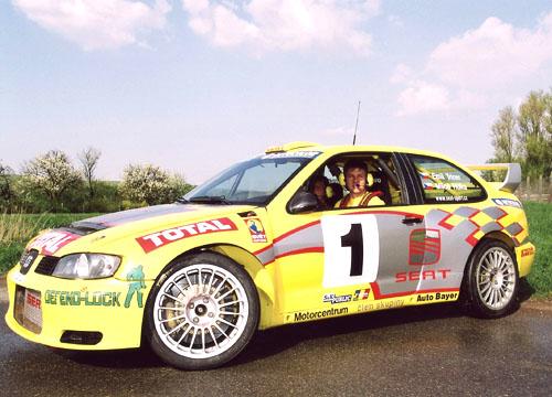 Pavel Kouřil, šéf týmu SEAT Sport CR, před Horáckou Rally: