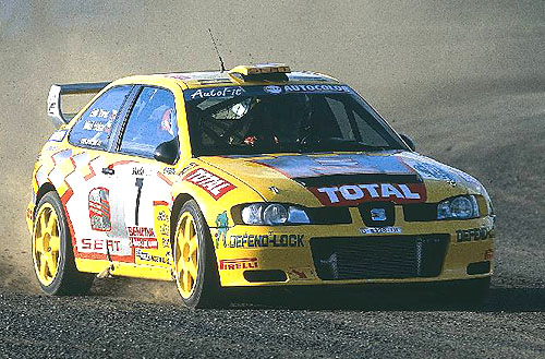 Emil Triner svozem SEAT Cordoba WRC