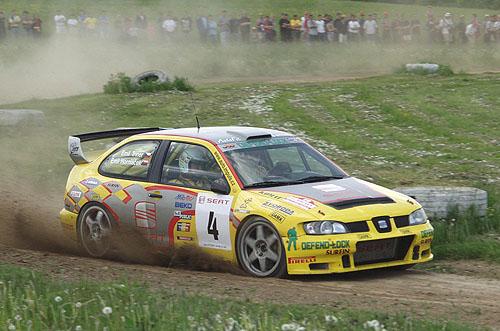 SEAT Rallye Český Krumlov