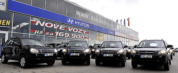 Hyundai zvítězil: 45 vozů Hyundai Tucson pro Lesy ČR