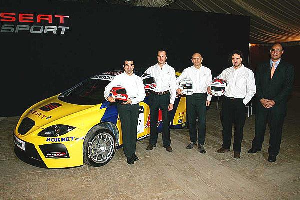 SEAT Sport usiluje o titul ve WTCC 2007