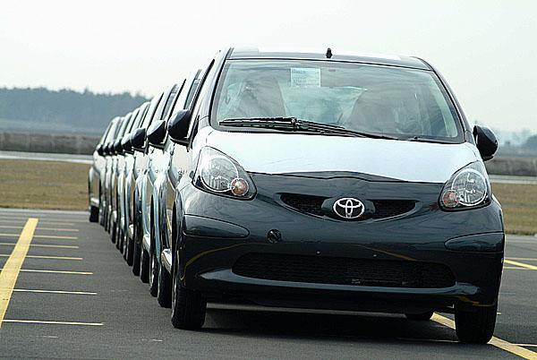 Toyota dosáhla rekordní roční prodej v Evropě již podesáté v řadě