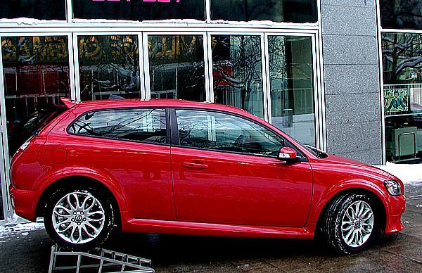 Nové čtyřsedadlové Volvo C30 vprodeji na našem trhu