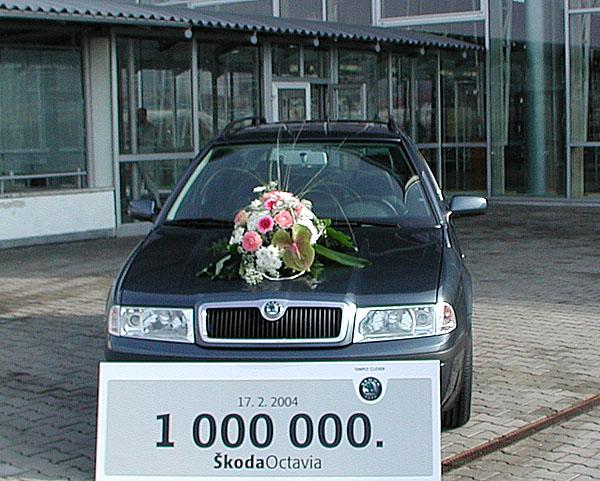 Škoda Auto vyrobila milióntou Octavii