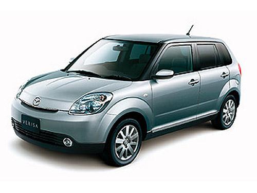 Nová Mazda Verisa – kompakt nabízející kvalitu