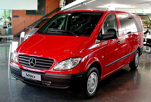 Mercedes-Benz představil a zahájil tento týden vČR prodej nového Vita a nového velkoprostorového modelu Vineo