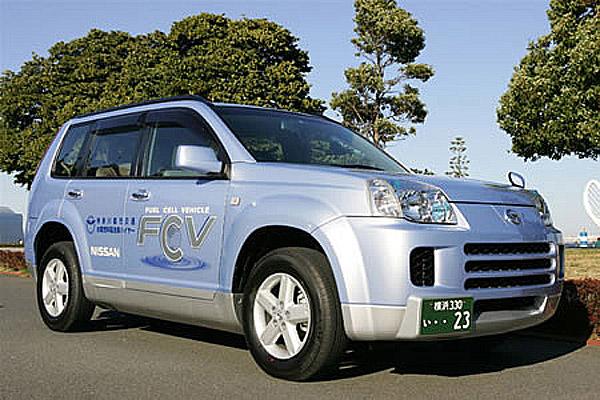 První vůz spohonem na palivové články v půjčovně