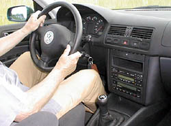 Volkswagen Bora TDI vtestu redakce