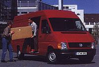 Volkswagen LT: Výkonný, hospodárný a bezpečný pomocník