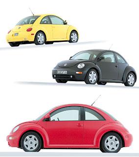 Volkswagen New Beetle zamířil do Evropy
