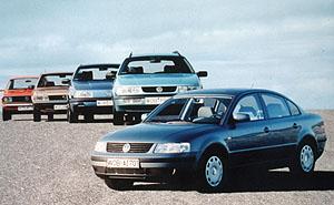 Volkswagen Passat slaví 25 let