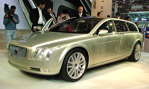 Versatility Concept Car – Inteligentní luxus od Volvo Car Corporation