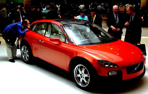 Nejvyšší ocenění za design získal koncept Volvo SCC