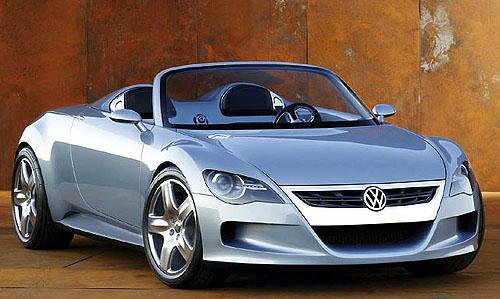 Světová premiéra značky Volkswagen: Roadster concept R