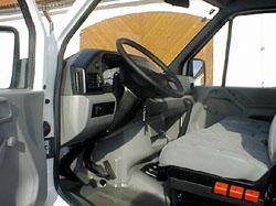 Za volantem VW LT - pohodlného a objemného užitkového vozu