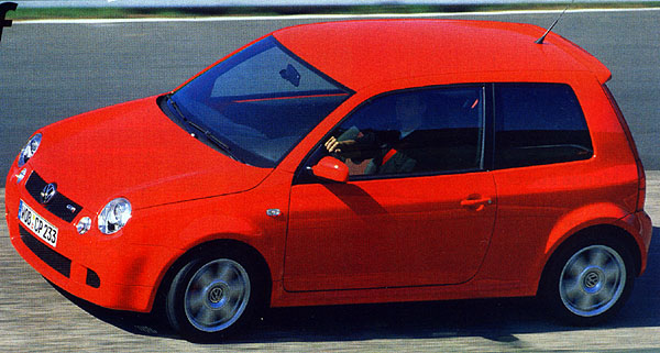 VW Lupo GTI: rychlík zWolfsburgu