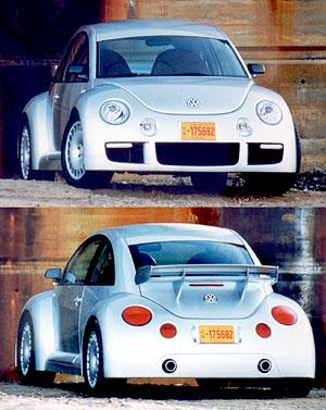 New Beetle RSi není žádná beruška