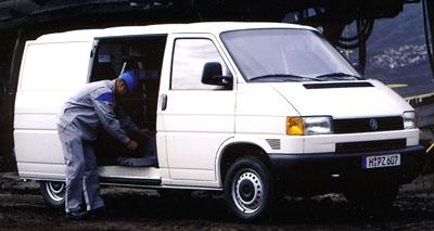 VW Transporter vakční verzi
