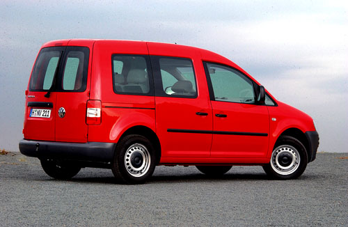 Nový Volkswagen Caddy vprovedení Van a Kombi