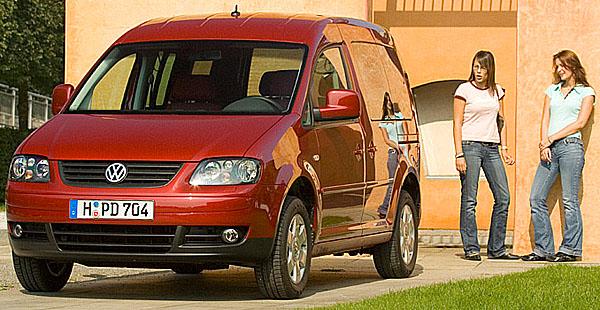 Volkswagen Caddy slaví 25 let