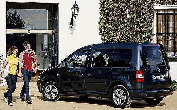 Volkswagen Caddy sklimatizací a komfortním paketem za výhodné ceny