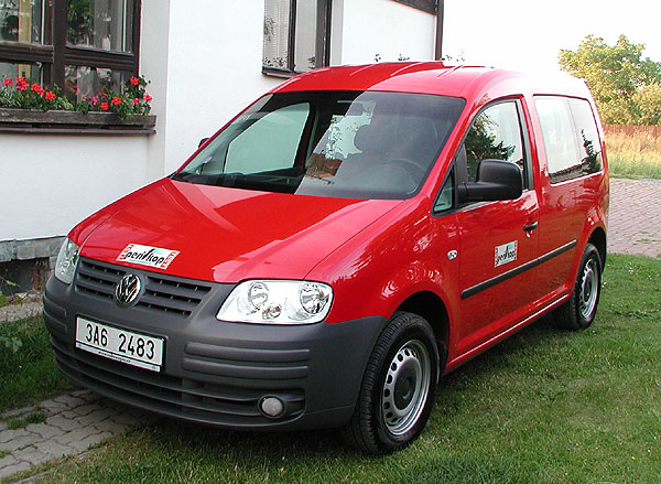 Volkswagen Caddy kombi – speciál vtestu redakce