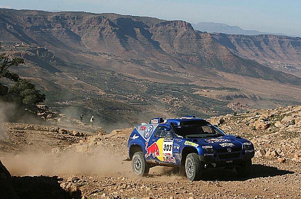 O Rallye Dakar 2007 a o účasti týmu VW v číslech