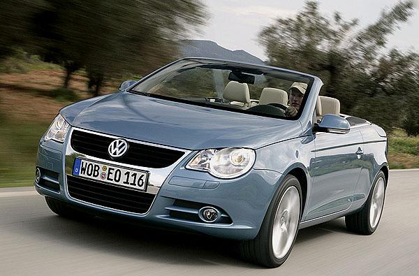 Volkswagen Eos snovým motorem