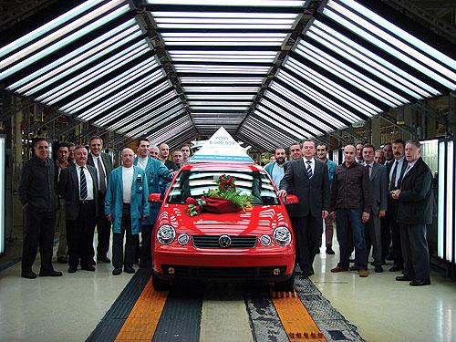 Rekord automobilky Volkswagen