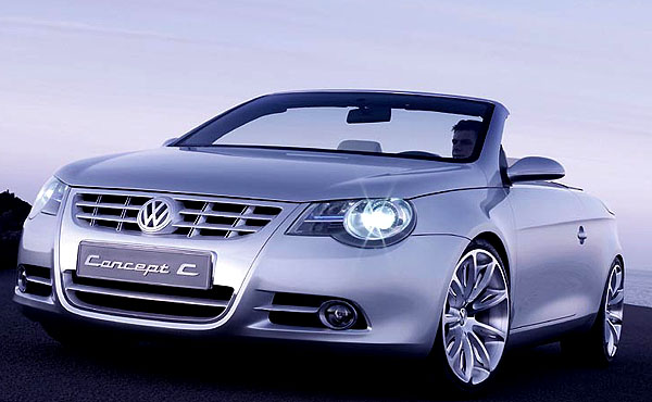 V roce 2006 vyjede nový čtyřsedadlový kabriolet Volkswagen